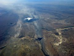 mountain(0.0), volcano(0.0), mountain range(0.0), summit(0.0), ridge(0.0), extreme sport(0.0), plateau(0.0), earth(0.0), shield volcano(0.0), flight(0.0), mountainous landforms(0.0), geology(1.0), terrain(1.0), landscape(1.0), aerial photography(1.0), volcanic landform(1.0),