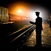 Vietnam Train Security by Eyebeam Photography