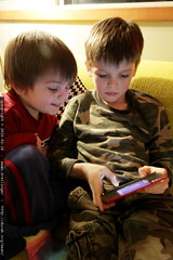 brothers with nick's nintendo DS
