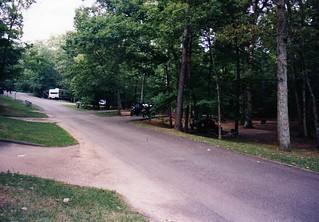 Strange campsite at Roanoke
