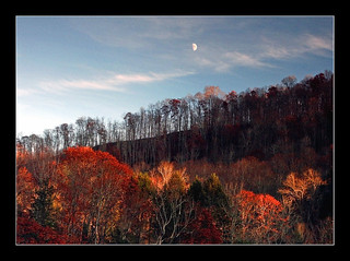 West Virginia Moonrise