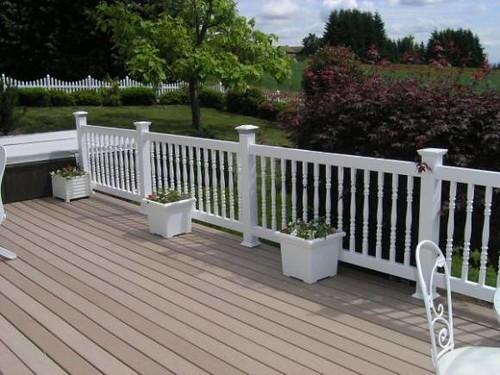 Decking materials home depot composite decking material for Composite decking products
