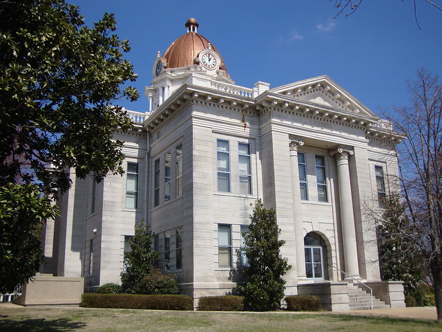 Lee County Courthouse Tupelo Mississippi