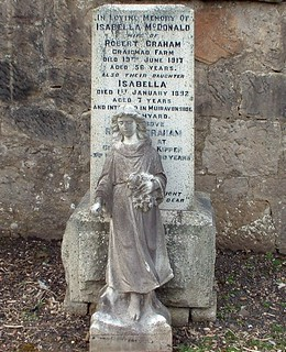 McDonald & Graham family, Muiravonside Cemetery, Stirlingshire, Scotland