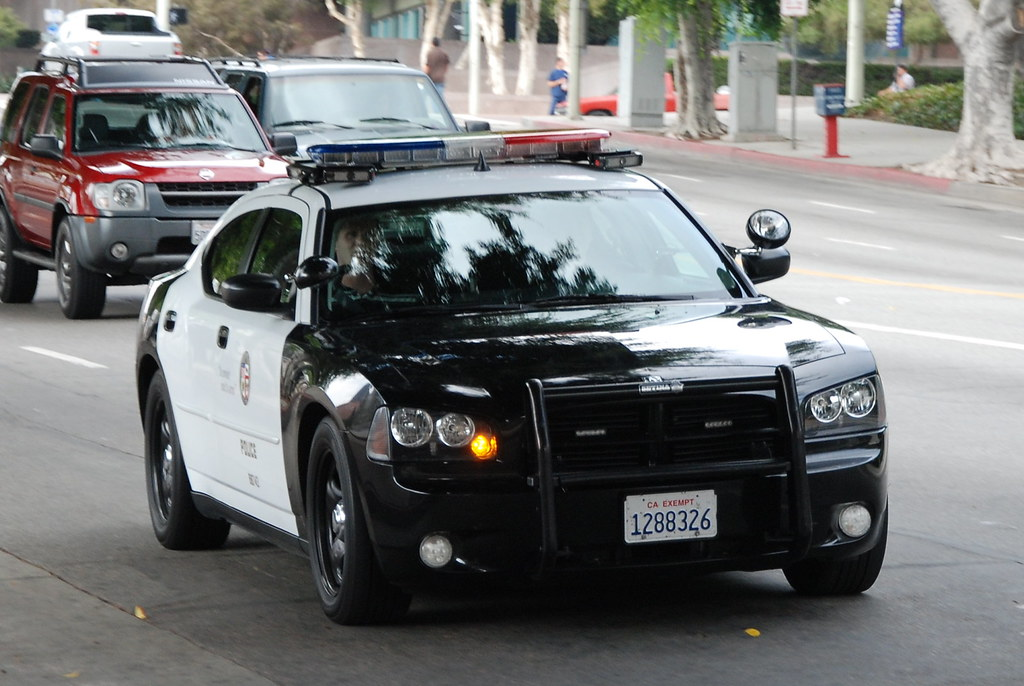 Los Angeles Police Department Lapd Dodge Charger A
