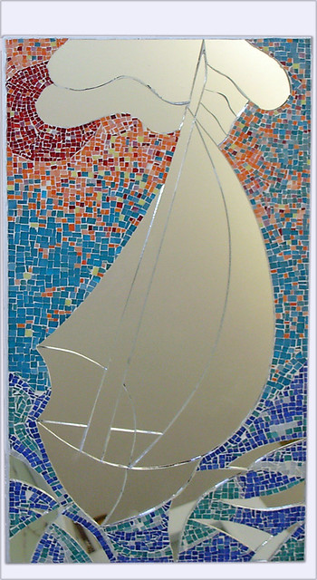 Mosaico in vetro con specchio flickr photo sharing - Specchio mosaico vetro ...