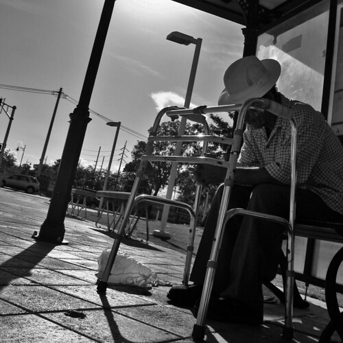 Waiting for the Bus... by Moliniano