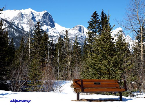 Canmore - Bow Valley: A rest from Winter