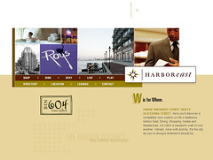 Harboreast Development Website (2005)