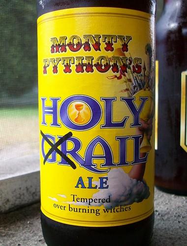 Monty Python Holy Grail Ale