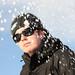 Jannes and snow by Hugo Dechesne