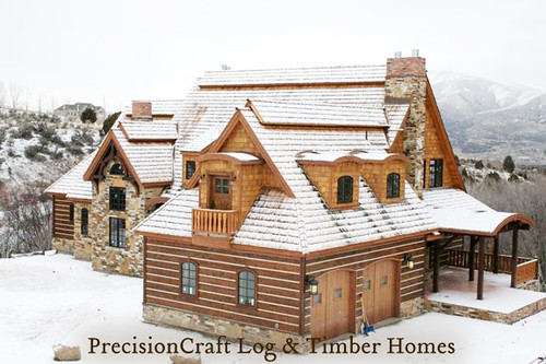 Custom Log & Timber Frame Home