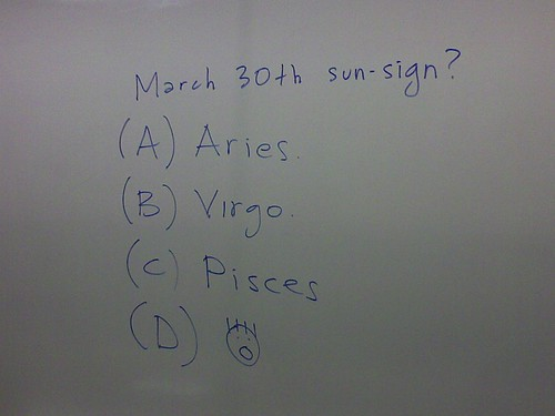 astrology questions