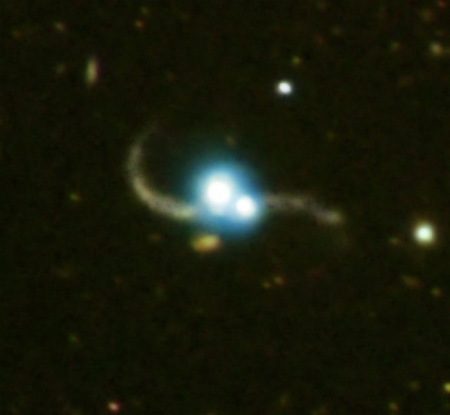 Quasar Pair Captured in Galaxy Collision (NASA, Chandra, 0 ...