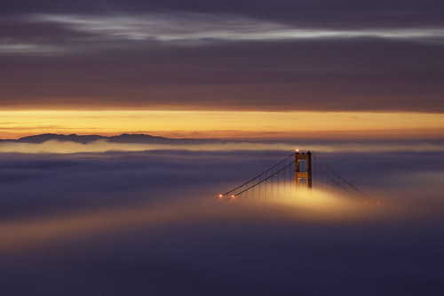 sanfrancisco california city longexposure day2 winter sky color fog clouds sunrise canon lights earlymorning hills explore goldengatebridge bayarea eastbay february 2010 congrats ef70200f4l lateforwork hawkhill tuesdaymorning nofilters crazybeautiful rollingfog twodaysinarow 5dmarkii morethanicansay