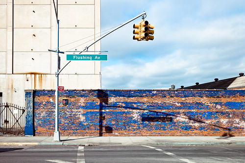 Blue Wall Revisit, Brooklyn