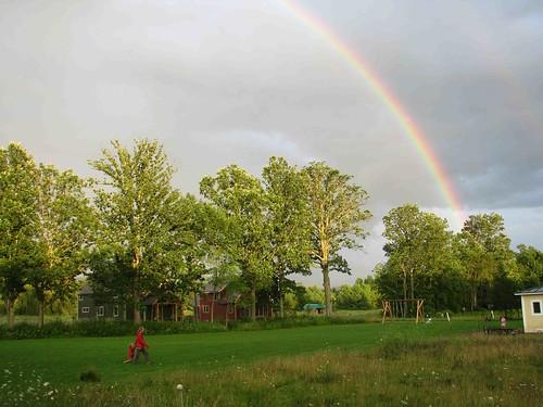 1766 Rainbow across Green
