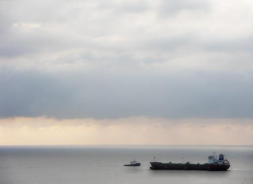 sea sky clouds boat nuvole mare nave cielo