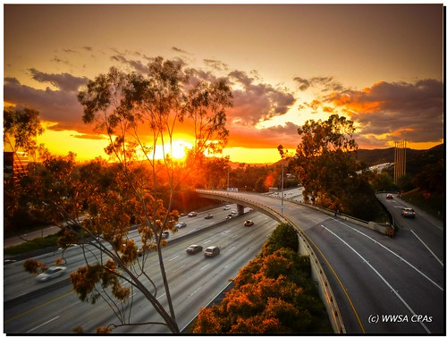 california sunset clouds colorado freeway commute pasadena reds figueroa hdr 210freeway 134freeway