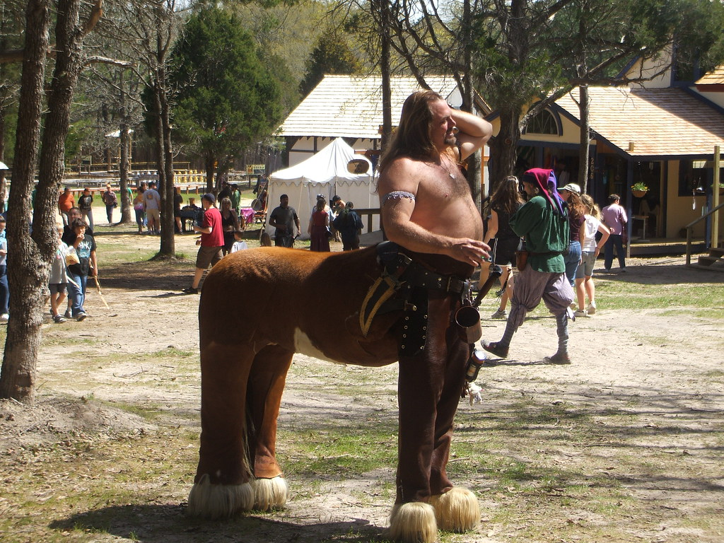 3/14/10 - Sherwood Forest: Chiron the Centaur