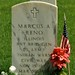 Headstone of Civil and Indian War Veteran Brevet Brigadier General Marcus A. Reno, Custer National Cemetery.