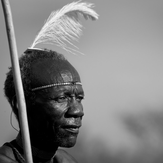 Pokot old man - Kenya
