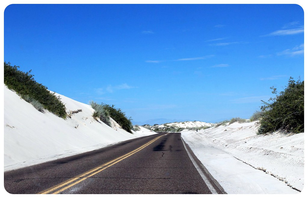 White Sands New Mexico street
