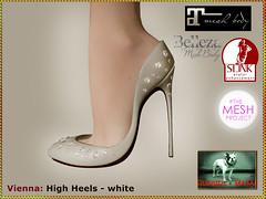 Bliensen - Vienna - High Heels - white
