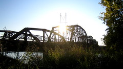 Old Route 66 Bridge Superstructure at Lake Overholser