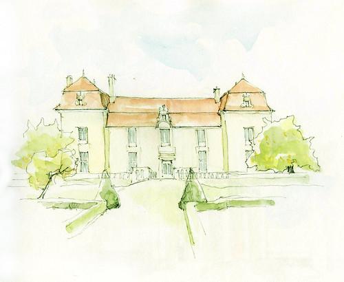 Château de Clauzuroux, Dordogne, France