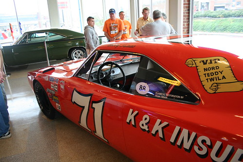 wellborn muscle car museum  dodge daytona  plymouth superbird  charger 500   information on