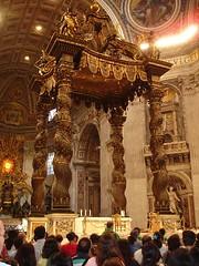 Interior of St. Peter's Basilica - Rome