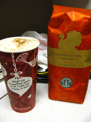 Seasonal coffee blend