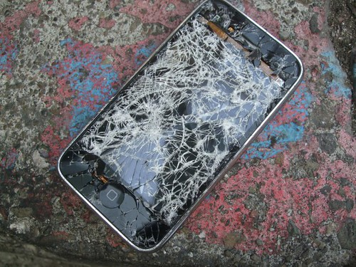 iphone broken