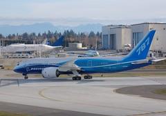 Boeing 787 Dreamliner N787BA ZA001