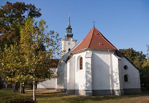 autumn church pentax 2009 jászfényszaru