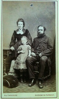 Family from Barrow-in Furness cdv