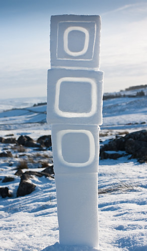 Ribblesdale Stacked Snow Squares