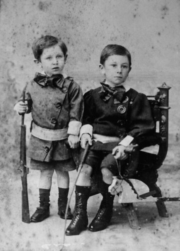 Lewis and George Hackett, 1899