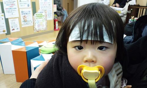 SAKURAKO came down with a cold.