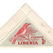 Liberia Postage Stamp: Pepper Bird