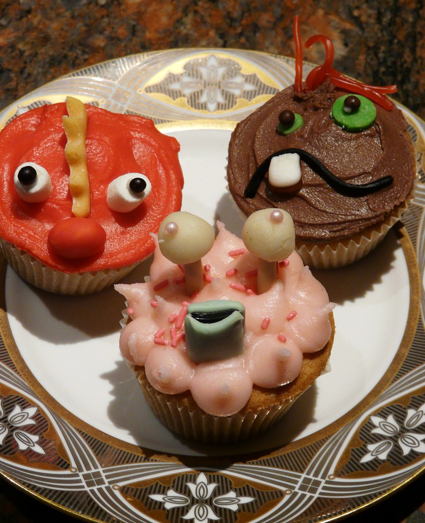 Cupcake Faces Candy Adorable Candy Faces