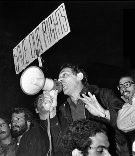 Harvey Milk-Orange Tuesday 6/7/77 San Francisco(c) J.Pritikin