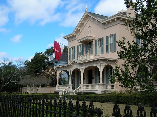 Proteus flag in the Garden District