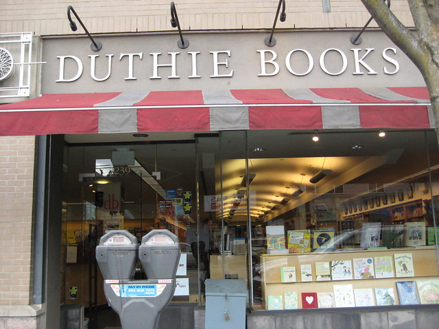Duthie Books pilgrimage. Sad to say goodbye.
