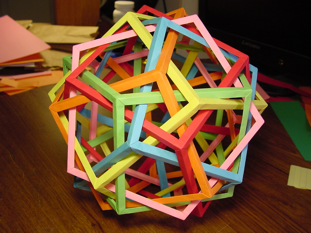 Six Pentagonal Prisms 2: 5-Fold Axis