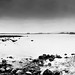 Harperrig Reservoir in Black & White Panormama