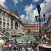 Fontana di Trevi, Roma, Italy by Batistini Gaston (4 million views!)