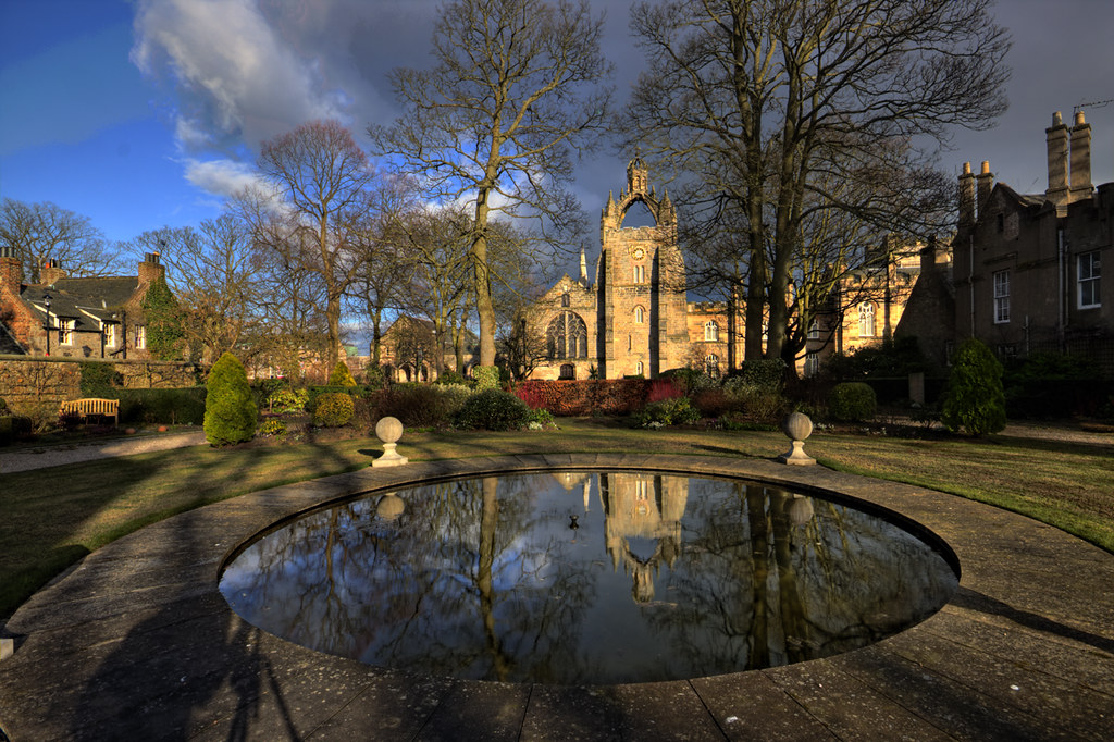 King's College Reflection - Old Aberdeen