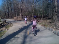 Riding the Greenway